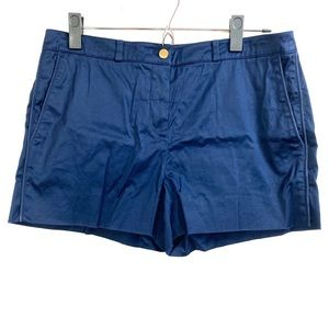 Toryburch Navy Blue City Shorts